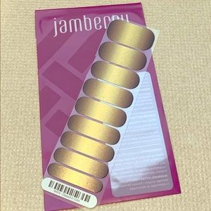 Jamberry Half Sheet - Dipped in Gold